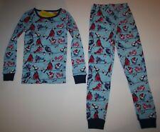 New Gymboree Gymmies 2 Piece PJs Bluebird Bird on Wire Size 7 Year NWT Pajamas