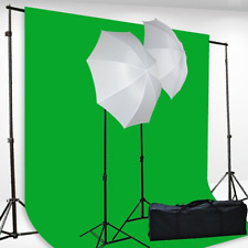 NEW Fancierstudio H69G 6x9-Feet Chromakey Green Screen Kit, Fast Free Shipping