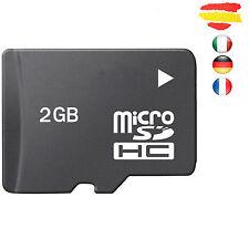 TARJETA MEMORIA 2GB MICROSD 2 GB MICRO SD SCHC Fabricación propia