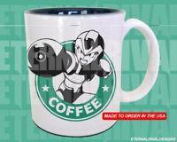 MegaMan X Mega Man Starbucks Anime Manga Japanese Insipred Cartoon Geek Nerd Mug