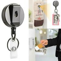 Telescopic Wire Rope Anti Lost Key Ring Keychain Retractable Gear Finder  kf01