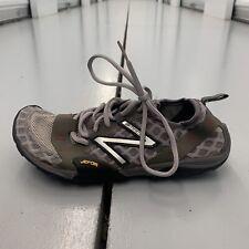 New Balance Minimus Mens Grey Athletic Vibram Running Shoes Hiking Size 6.5 Shoe