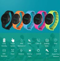 Smart Bluetooth Fitness Activity Tracker Sport Watch Pedometer For IOS Android