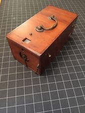 BEAUTIFUL & RARE1891-1895 Kodak Ordinary B Wood Box Camera Single Lens Revolving