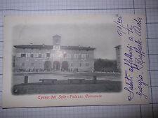 Cartolina  Terra del Sole Palazzo Comunale (Forlì) 1926  CB496