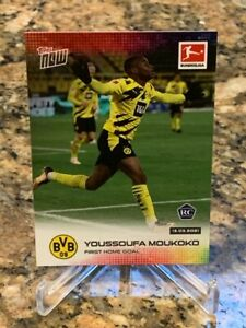 2021 Topps Now Youssoufa Moukoko #150 Rookie Card - HOT - INVEST
