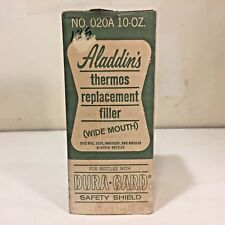 Vtg NOS Aladdin Thermos Bottle Replacement Filler No. 020A 10 oz. Wide Mouth