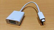 Usb 3 3.1 Type C vers VGA Adaptateur connecteur cable-macbook pro Chromebook