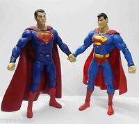 """lot of 2 DC Direct Superman Collectibles Action Figure 6""""- 7"""" loose"""