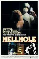 Hellhole Poster 01 A2 Box Canvas Print