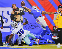 Giants Odell Beckham Jr. Authentic Signed 16x20 Catch Photo Autographed JSA 2