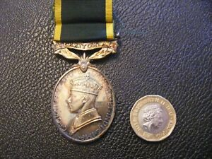 war medal territorial world war11,for efficient service.with ribbon WW2,as found