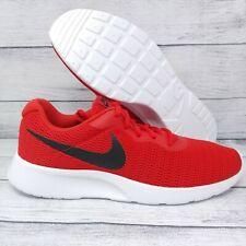 Nike Tanjun Training Running Shoes Mens Sz 10 University Red Black (812654-601)