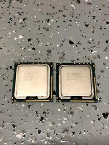 Lot of TWO (2) Intel Xeon E5520 LGA1366 2.26 GHz 8 MB Cache Socket Processors