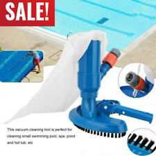 US Portable Swimming Pool & Spa Pond Fountain Vacuum Brush Cleaner Cleaning Tool