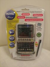 Vintage Royal Info To Go EZ Vue 5 PDA personal Digital Assistant New Sealed
