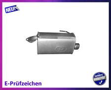 Endschalldämpfer Subaru Legacy IV 2.0 Boxer Diesel Auspuff Endtopf Links Chrom