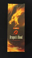 DRAGONS BLOOD 6 Boxes of 20 = 120 GR Incense Sticks Bulk Case Retail Display Box