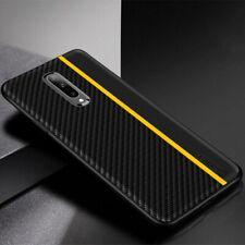 Oneplus Luxury Original Carbon Fiber Genuine Leather Texture Case Phone Cover