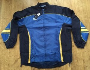 ISC Rugby League Full Zip Jacket Pitch Side Game Day Xxl Zip Pockets