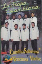 La Tropa Colombiana Cumbia Soberana Venenosa Vuelve Cassette New Sealed