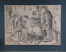 Attributed to Heinrich Zille (1858-1929): Satyrical scene, drawing