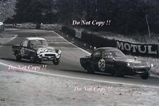 Marcos GT Gullwing & Sunbeam Alpine Le Mans 1962 Photograph 1