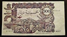 Algérie - 500 Dinars - 1er novembre 1970