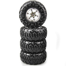 4X 1:10 Rubber Tires Wheel For HSP Monster Bigfoot Truck Crawler Car 3001