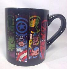 Marvel Comic 14 oz Ceramic Mug Spider-Man, Thor, Hulk, Captain America