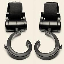 2pcs/set Baby Pushchair Stroller Clip Hook Buggy Pram Diaper Bag Holder Hanger
