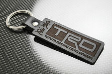 Toyota TRD Leather Keyring Porte-clés Schlüsselring Corolla AE86 AW11 Soarer JDM