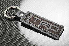 Toyota TRD Leather Keyring Porte-clés Schlüsselring Corolla AE86 AW11 Soarer JDM