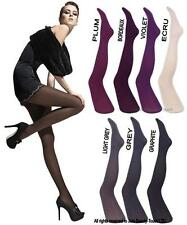 Fiore Tights XLarge 40 Denier Paula Microfibre Tights Hosiery Graphite 1pr