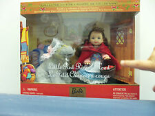 Barbie Little Red Riding Hood Kelly Doll Mattel NRFB NEW