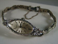 Bulova 23j 14k Gold Diamond Ladies Wristwatch