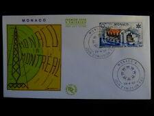MONACO PREMIER JOUR FDC YVERT  727    EXPOSITION UNIVERSELLE MONTREAL  1F   1967