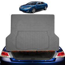 CHARCOAL GRAY ALL WEATHER RUBBER CARGO / TRUNK MAT for TOYOTA CAMRY