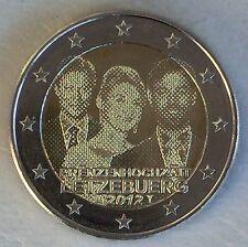 2 Euro Luxemburg 2012 Prinzenhochzeit unz