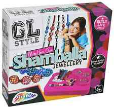 GL Style Make Your Own Shamballa Perle Bracelet Set Childrens Bijoux Craft Kit