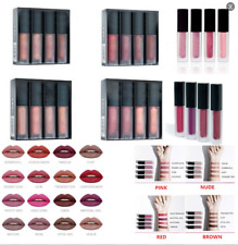 4 pcs Lipstick Set Matte Liquid Waterproof Lip Stick Gloss Beauty Makeup Gifts