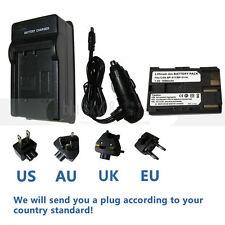 BP-511 BP-511A Battery +Charger For Canon 10D 20D 30D 300D 40D 50D 5D D60 BP-512