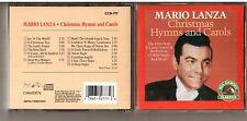 Original Christmas CD Mario Lanza Hymns and Carols Canada RCA Camden Classics