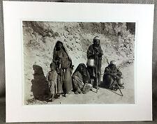 Vintage photography Print Jerusalem Israel Beggar Nomad Bedouin Art