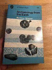 Archäologie aus der Erde 1964 Pelican Vintage Taschenbuch