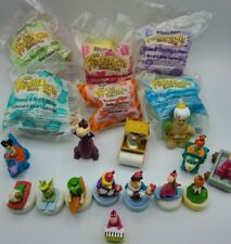 LARGE LOT of Flintstones Fastfood Toys - Denny's, McDonald's, and Wendy's!