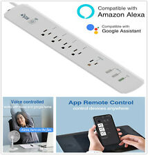 5 Outlet 3 USB SMART APP WIFI Power Strip Surge Protector Extension Cord Plug