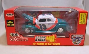 Racing Champions STOCK RODS 1:24 Diecast 1998 #13 Jerry Nadeau First Plus Loans