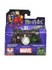 Marvel Minimates Rescue Armor Iron Man & Robot Hulk TRU Series 17 Toys-R-Us New