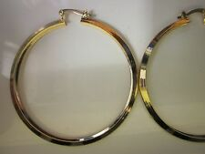 14 karat gold filled large hoop earring  sale